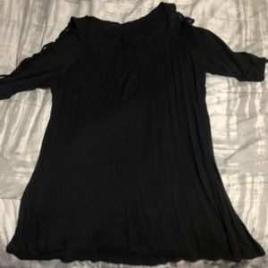 Maurice's Black Dressy Top
